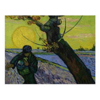 Vincent van Gogh - le semeur Carte Postale