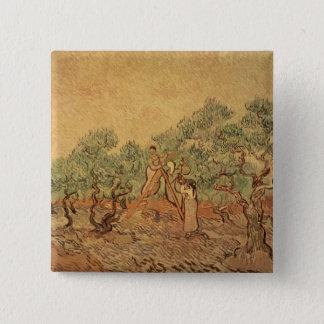 Vincent van Gogh | le verger olive, 1889 Badge
