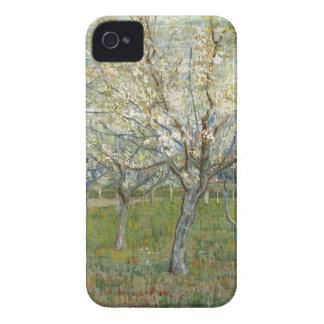 Vincent van Gogh le verger rose - peinture florale Coque iPhone 4 Case-Mate