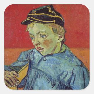 Vincent van Gogh | l'écolier, 1889-90 Sticker Carré