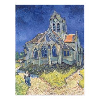 Vincent van Gogh | l'église à l'Auvers-sur-Oise Carte Postale