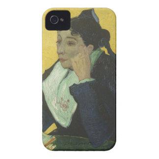 Vincent van Gogh - Madame Ginoux avec des livres Coques iPhone 4