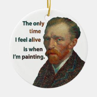 Vincent van Gogh Ornement Rond En Céramique