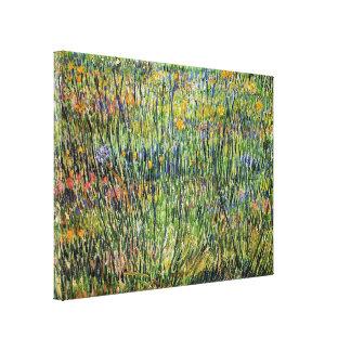 Vincent van Gogh - pâturage en beaux-arts de fleur Toile