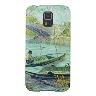 Vincent van Gogh | pêchant au printemps Coques Pour Galaxy S5