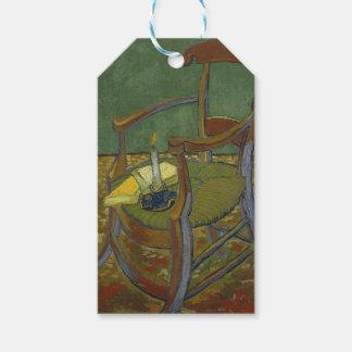 Vincent van Gogh - peinture du fauteuil de Gauguin Étiquettes-cadeau