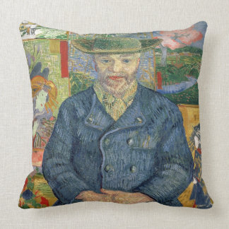 Vincent van Gogh | Pere Tanguy (père Tanguy) Coussin Décoratif