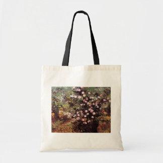 Vincent van Gogh - rosier en beaux-arts de fleur Sacs En Toile