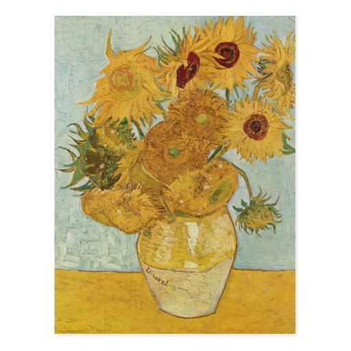 Vincent van Gogh - tournesols Cartes Postales