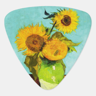 Vincent van Gogh trois tournesols dans un vase Onglet De Guitare