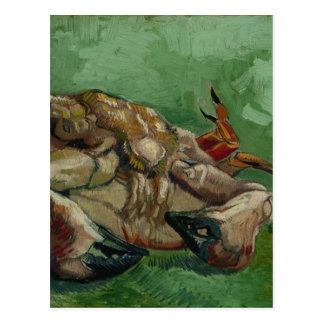 Vincent van Gogh - un crabe sur son dos Carte Postale
