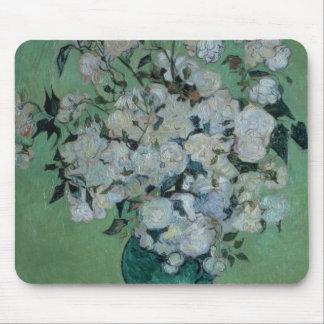 Vincent van Gogh | un vase de roses, 1890 Tapis De Souris