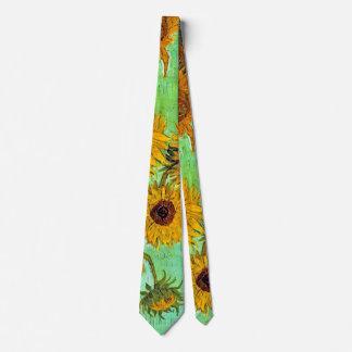 Vincent van Gogh - vase avec douze tournesols Cravates