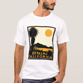 Vingt-neuf tee - shirts de paumes t-shirt