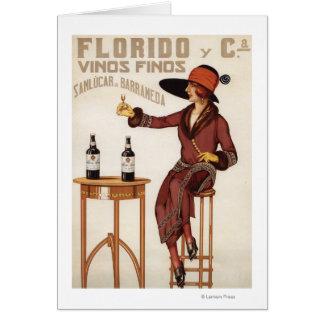 Vins de Florido Finos - Sanlucar de Barrameda Carte De Vœux