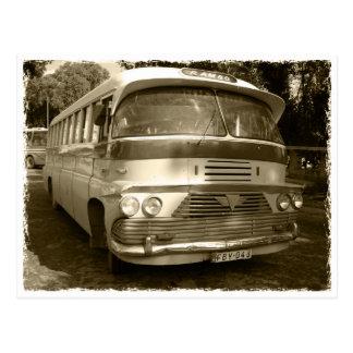 Vintage autobus AT Malte Carte Postale