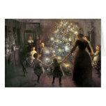 Vintage_Christmas_dance_Card Cartes De Vœux