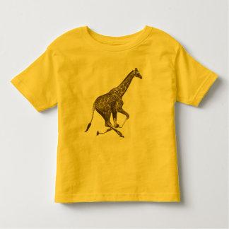 vintage giraf t-shirt pour les tous petits