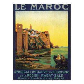 Vintage Le Maroc Maroc Carte Postale