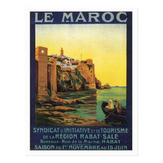 Vintage Le Maroc Maroc Cartes Postales
