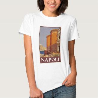 vintage-napoli-travel-poster. t-shirts