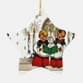 vintage-santa-christmas-post-cards-0029 ornement étoile en céramique