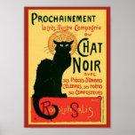 Vintage Tournée du Chat Noir, Theophile Steinlen Affiche