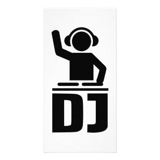 Vinyle de plaque tournante du DJ Photocarte Personnalisée