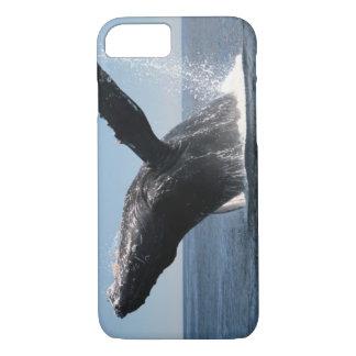Violation adulte de baleine de bosse coque iPhone 8/7