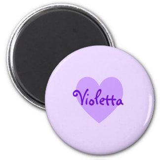 Violetta dans le pourpre magnets