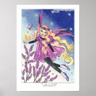 """Violetta "" Poster"