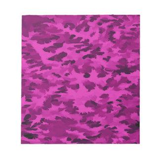 Violette abstraite d'art de bruit de feuillage blocs notes