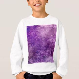 Violette abstraite sweatshirt
