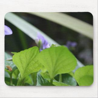 Violette abstraite tapis de souris