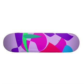 Violette africaine de libération skateboard old school  21,6 cm