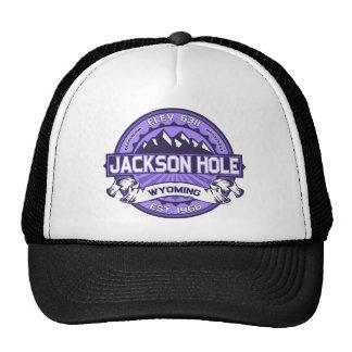 Violette de Jackson Hole Casquette De Camionneur