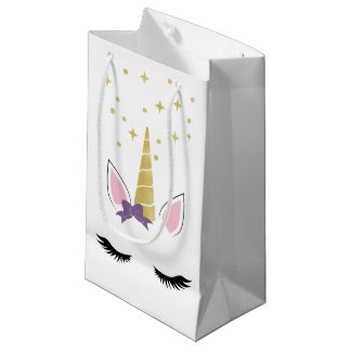 Violette le petit sac de licorne