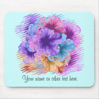 Violettes folles tapis de souris