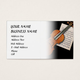 Violon - carte d'industrie musicale