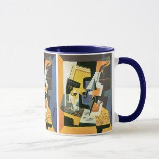 Violon et verre par Juan Gris, cubisme vintage Mug