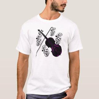 Violon, love_ de basculage t-shirt