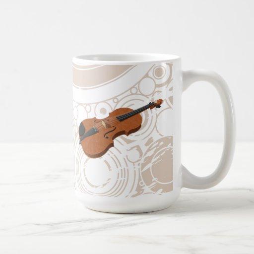 Violon : modèle 3D : Tasse de café