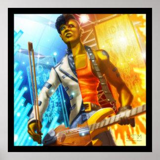 Violon Rockstar Posters