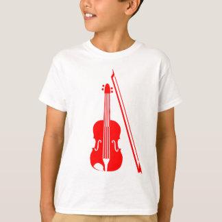 Violon - rouge t-shirt