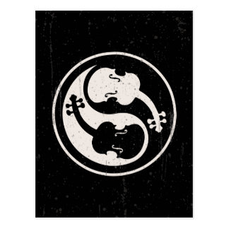 Violon Yang Carte Postale