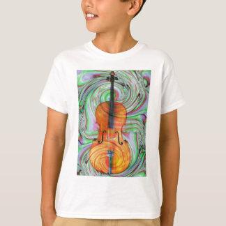 Violoncelle psychédélique t-shirt