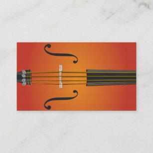 Violoncelle Violon Conception De Carte Visite