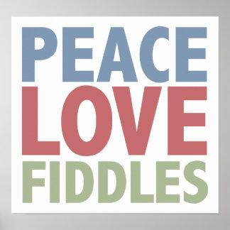 Violons d'amour de paix affiche