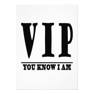 VIP INVITATIONS PERSONNALISÉES