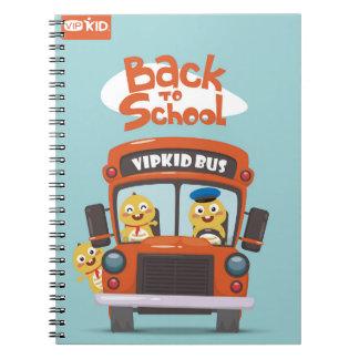 VIPKID de nouveau au carnet 2 d'école